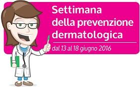 Settimana della prevenzione dermatologica: 13-18 giugno