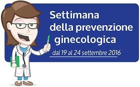 Settimana prevenzione ginecologica